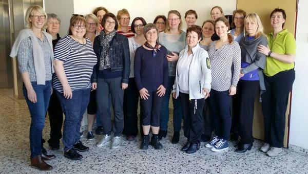 Teilnehmerinnen der NIMOC Fortbildung im März 2017